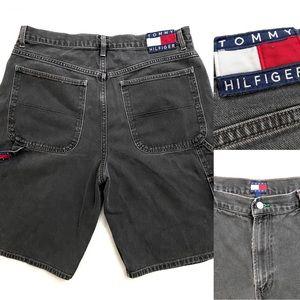 Vintage Tommy Hilfiger Men's Denim Shorts
